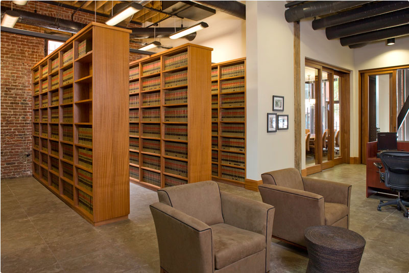 Law Offices of Keesal, Young & Logan - San Francisco, CA - GC: Webcor Builders - Architect: Beckmeyer Carver Architects