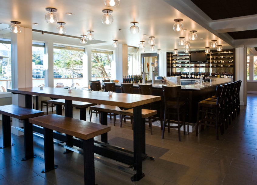 Piatti Restaurant - Mill Valley, CA - GC: Jeff Luchetti Construction - Architect: BCV Architects