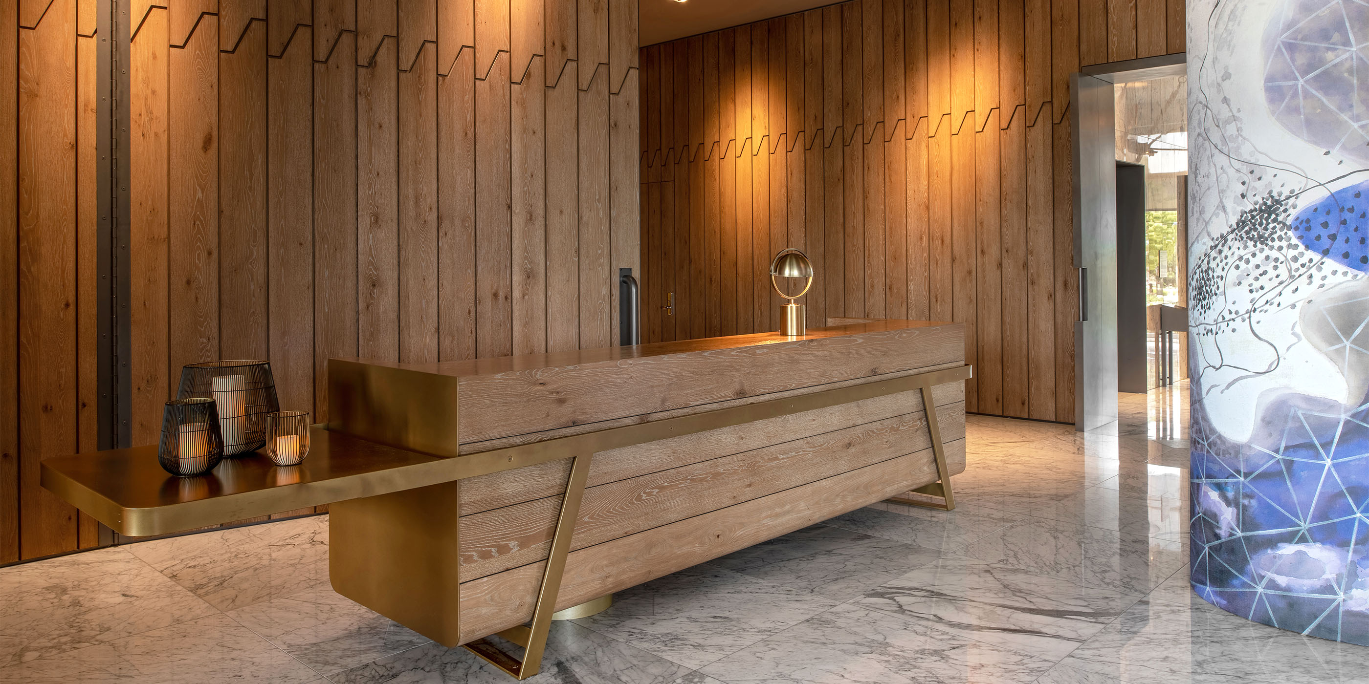 Hotel Nia - Commercial Architectural Millwork